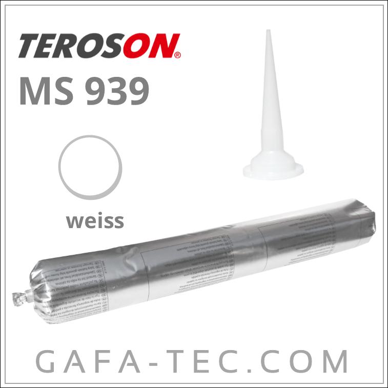 Henkel Terostat MS 939 Elastischer Kleb-//Dichtstoff weiß